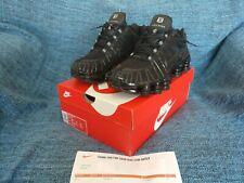 Nike Shox TL Triple Black DS BNIB UK Size 9