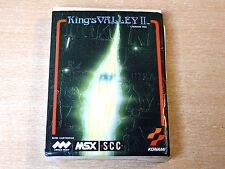 MSX Cartridge - King's Valley II by Konami
