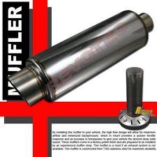 """Universal 3.5"""" Fireball Muffler Exhaust Tig Welding T304 Stainless Steel"""