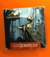 Jurassic World Loot Crate DX Exclusive Collectible Raptor Pin (2018)
