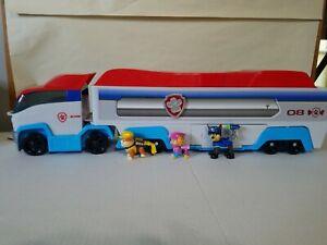 Paw Patrol Patroller Transporter Semi Truck w/ Figures