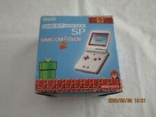 Y3199 Nintendo Gameboy Advance SP console Famicom color GBA Japan w/adapter x