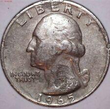 Washington 1965 Quarter .. Laminations ..