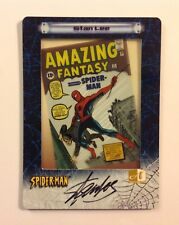 Stan Lee signed 2002 Amazing Fantasy 15 Film card autograph Marvel comics auto