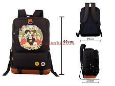Miyazaki Hayao Anime Backpack Spirited Away Backpack No Face Schoolbag Packsack