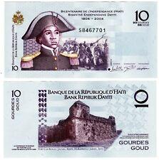 HAITI Billet 10 Gourde 2016 ( 2017 )  P272 COMMEMORATIVE BELAIR NEUF UNC