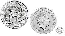 Großbritannien 2 Pfund 2021 Mythen und Legenden (1) Robin Hood 1 Oz Silber ST