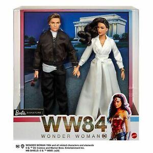 Barbie Signature WW84 - Diana & Steve. Brand New Collector Dolls in Shipper NRFB
