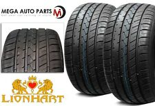 2XNew Lionhart LH-FIVE 245/45R20 103W XL All Season Ultra High Performance Tires