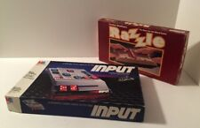 "Vintage Board Game Bundle ""Input"" 1984 Edition and ""Razzle"" 1981 Edition"