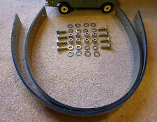 Land Rover Series 2a 3 Parabolic Axle Check Straps & Stainless Bolts Set 278698