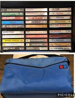 Lot of 30 Vintage Country Music Albums CASSETTE TAPES w/ Case Original Owner