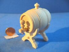 Nr.39 Bodo Hennig 5x Weinfass 1:10 - Puppenhaus Kaufladen Puppenstubenmöbel