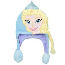 4b8f86bc925 Flipeez Girls Disney Frozen Princess Elsa Beanie Ski Warm Winter Hats for  Kids