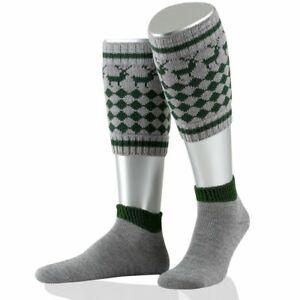 Authentic German Loferl 2 pc. Socks for Lederhosen Outfit Red 10-11