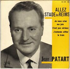"JEAN PATART ""J'ENTENDS SIFFLER LE TRAIN"" 60'S EP PATHE 642 Dédicacé !"