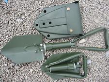 BW MODELL Bundeswehr Klappspaten Spaten Feldspaten Orig. Tasche Oliv 27033