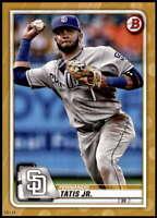 Fernando Tatis Jr. 2020 Bowman 5x7 Gold #47 /10 Padres