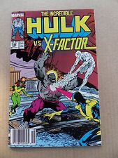 The Incredible Hulk 336 . X- Factor App . -  Marvel 1987 -   VF / NM