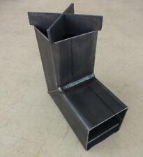 "L&J CNC Rocket Stove - 8.5"" x 8.5"" x 4"" New USA Made Unpainted"