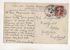 Miss Hargreaves Woodfield Ilkley Yorkshire 1908 657b