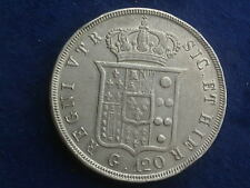Piastra ( 120 Grana ) 1842 Ferdinand II. Neapel  W/18/657