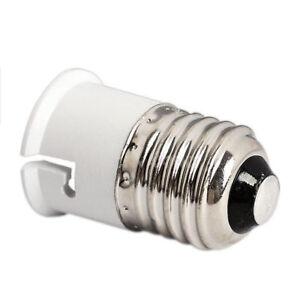 ADAPTATEUR DOUILLE E27 B22 AMPOULE LAMPE gros culot a vis vers culot baionnette