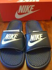 Nike Benassi JDI Sliders, Midnight Navy, UK Size 7, BNIB