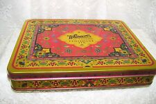 Whitman's Cloisonne Tin Box w/ Hinged Lid