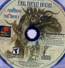 Final Fantasy Origins - Disc Only Tested - Sony PlayStation 1 - NTSC PS1 PS One