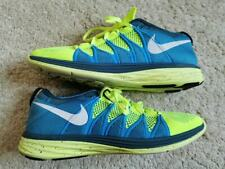 Mens Nike Flyknit Lunar2 Running Trainers Volt Blue 620465-714 FITNESS GYM UK 9