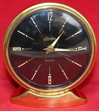 Linden Brass Alarm Desk Clock - Small - Germany - Vintage