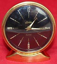 Linden Brass Alarm Desk Clock - Small - Germany - Vintage