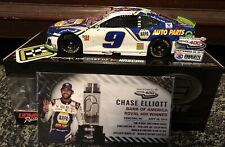 2019 Chase Elliott Charlotte Roval Race Win Action 1:24 Diecast Car ELITE w/ Pin
