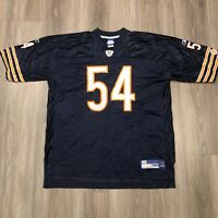 Chicago Bears Brian Urlacher #54 Reebok NFL Equipment Mens 2XL Jersey
