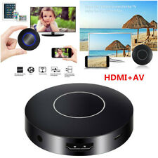 Car Home Miracast Airplay HDMI+AV RCA TV WiFi Mirror Link Screen Video Dongle