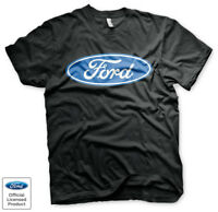 Official Licensed Ford T-Shirt Ford Motors Original Oval Logo T-Shirt