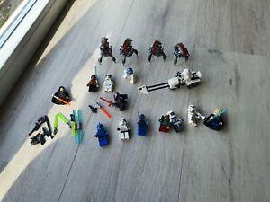 Kleine Sammlung Lego Star Wars Minifiguren Mit Zubehör
