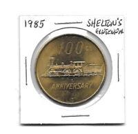 (H) 1985 Shelton's Centennial Coin