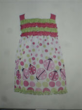 NWT Rare Editions Too Baby Girls Ladybugs & Polka Dots Boutique Dress 2T Pretty