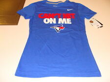 2013 Toronto Blue Jays MLB Baseball S Ladies Women's T Shirt Blue Hit Me