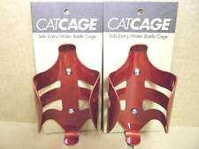New-Old-Stock Catamount CatCages...Two Red Water Bottle Cages