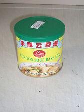 Won Ton Soup Base Mix 227g 8oz Tin Chinese Soup Broth Noodle Dish