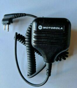 Motorola RBR Remote Speaker/Microphone, W/PTT Slim Plug HKLN4606A New in Box