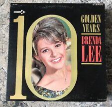 BRENDA LEE - Golden Years -Canadian Pressing LP