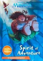 NEW Disney Moana Spirit of Adventure (Color It) by Parragon Books Ltd