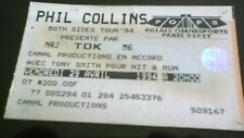 Billet de concert PHIL COLLINS  BERCY AVRIL 1994