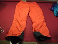 Vintage The NORTH FACE Size XL Ski Snow Pants Snowboarding Mens Red