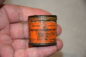 Old and Tiny Tin Eley Bros Ld Military Percussion Caps
