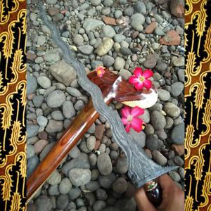 Keris Sengkelat Pamor Banyu Mili-Javanese Keris-Indonesian Culture-Tosan Aji